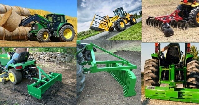 Useful Tractor Implements & Attachments